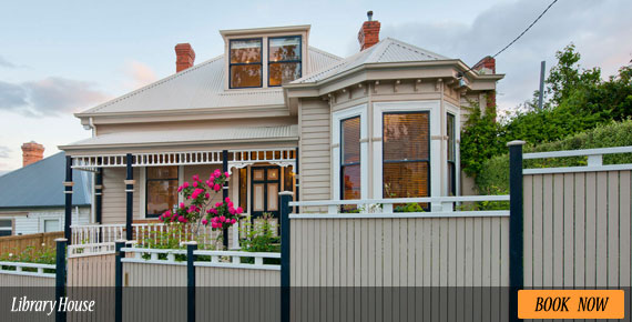 Library House Hobart - Beautiful Federation Style Home
