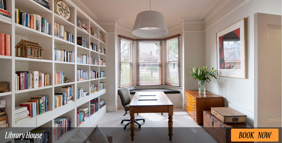 Delightful Library Room